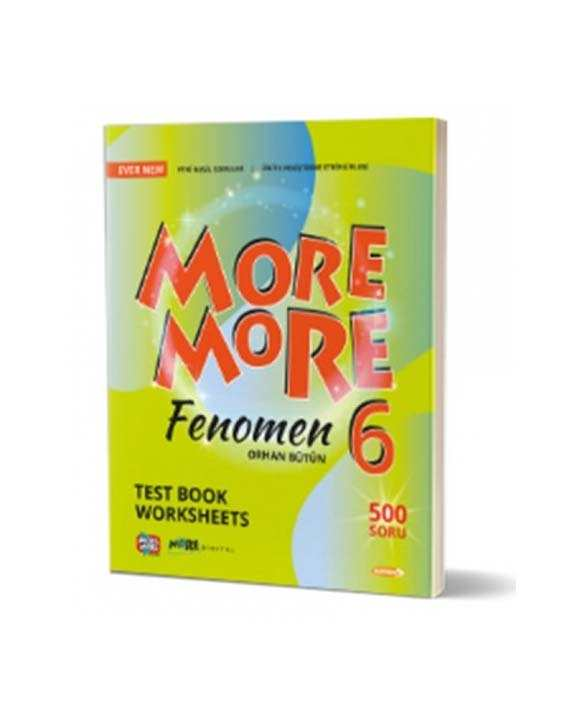 6. Sınıf More and More English Fenomen Test Book Worksheets Kurmay ELT