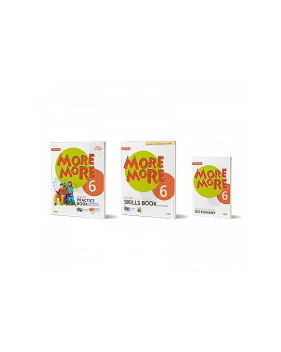 6. Sınıf More and More English Practice Book (Skills Book + Dictionary) Kurmay ELT