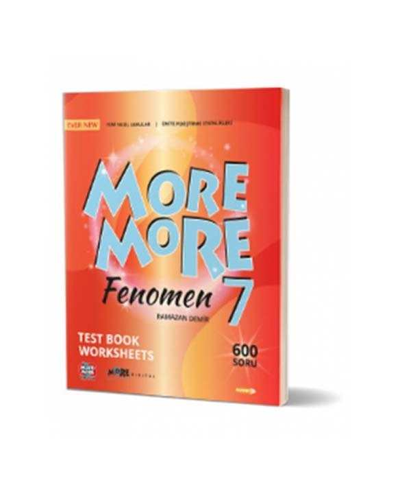 7. Sınıf More and More English Fenomen Test Book Worksheets Kurmay ELT