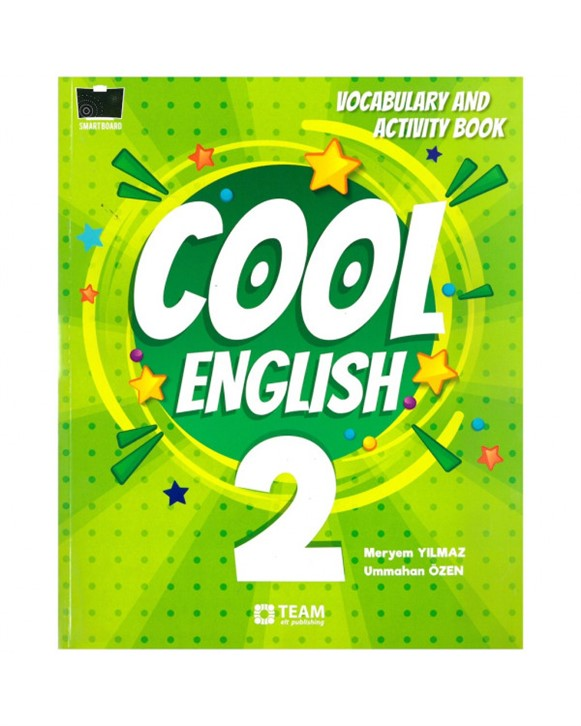 2. Sınıf Cool English Vocabulary and Activity Book Team Elt Publishing
