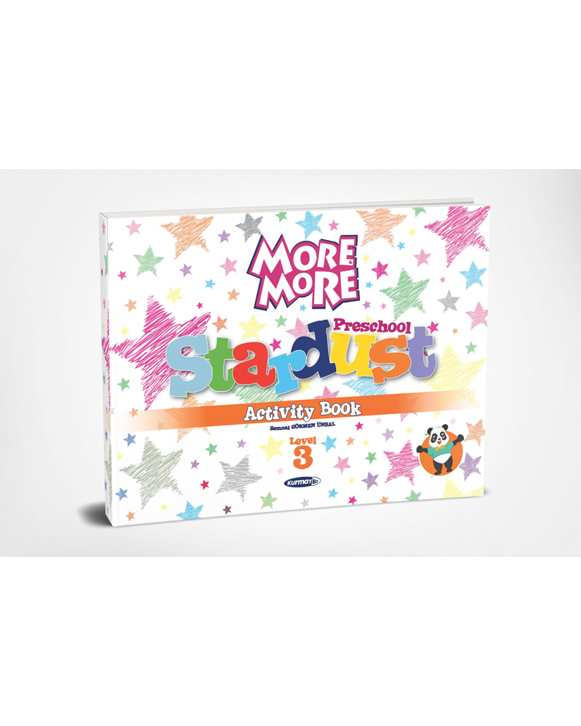 Kurmay More & More Preschool Level 3 Activity Book
