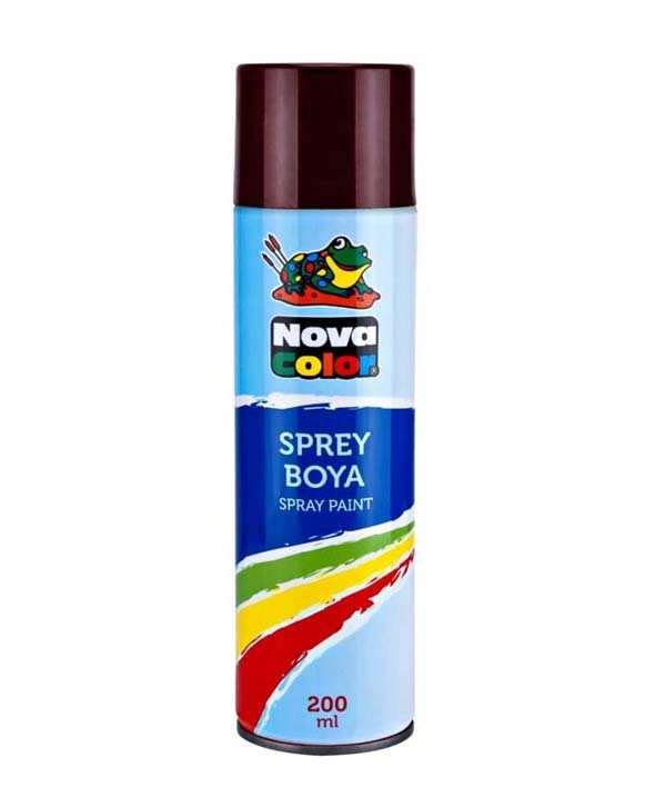 N.Color Sprey Boya Kahve 200 Ml